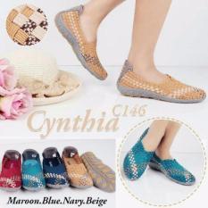 (Original) Sepatu Anyaman Cynthia C146 - Nb96jj