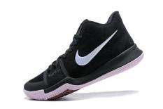 Asli Sepatu Olahraga Asli Kyrie 3 2014 Sepatu Keranjang Pria NBA Semua-Bintang MVP Sepatu Keranjang Pria NBA Sepatu Hitam Resmi Sneakers-Internasional