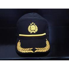 Original Topi Dinas Lapangan Untuk Perwira Polri - Agp8pk