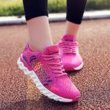 Toko Asli Wanita Outdoor Olahraga Atletik Sepatu Berlari Sepatu Kets Merah Intl Yang Bisa Kredit