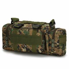 Iklan Orlando Outdoor Military Tactical Combat Waist Pouch Shoulder Sling Bag Hijau Camouflage
