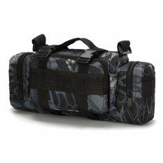 Jual Orlando Outdoor Military Tactical Combat Waist Pouch Shoulder Sling Bag Hitam Viper Dki Jakarta