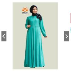 Orlin GAMIS POLOS JERSEY SIZE L KODE : GL-001 BAHAN JERSEY JOLIN BUSUI BY INDOHIJAB GROSIR (POST. 1)