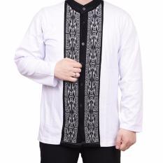 Harga Ormano Baju Koko Muslim Batik Lengan Panjang Lebaran Zo17 Kk57 Kemeja Fashion Pria Putih Online