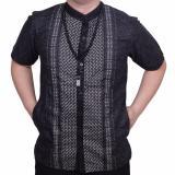 Toko Ormano Baju Koko Muslim Batik Lebaran Lengan Pendek Zo17 Kk06 Kemeja Fashion Pria Hitam Di Indonesia