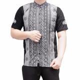 Katalog Ormano Baju Koko Muslim Pendek Eksklusif N41 Hitam Terbaru