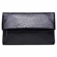 Ormano Tas Kulit Pria Handbag Hand Bag Clutch Imperio s1748 - Black
