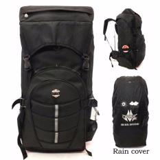 Ormano Tas Ransel Camping Naik Gunung Adventure Outdoor Backpack Travel Backpacker Tas Besar - Hitam