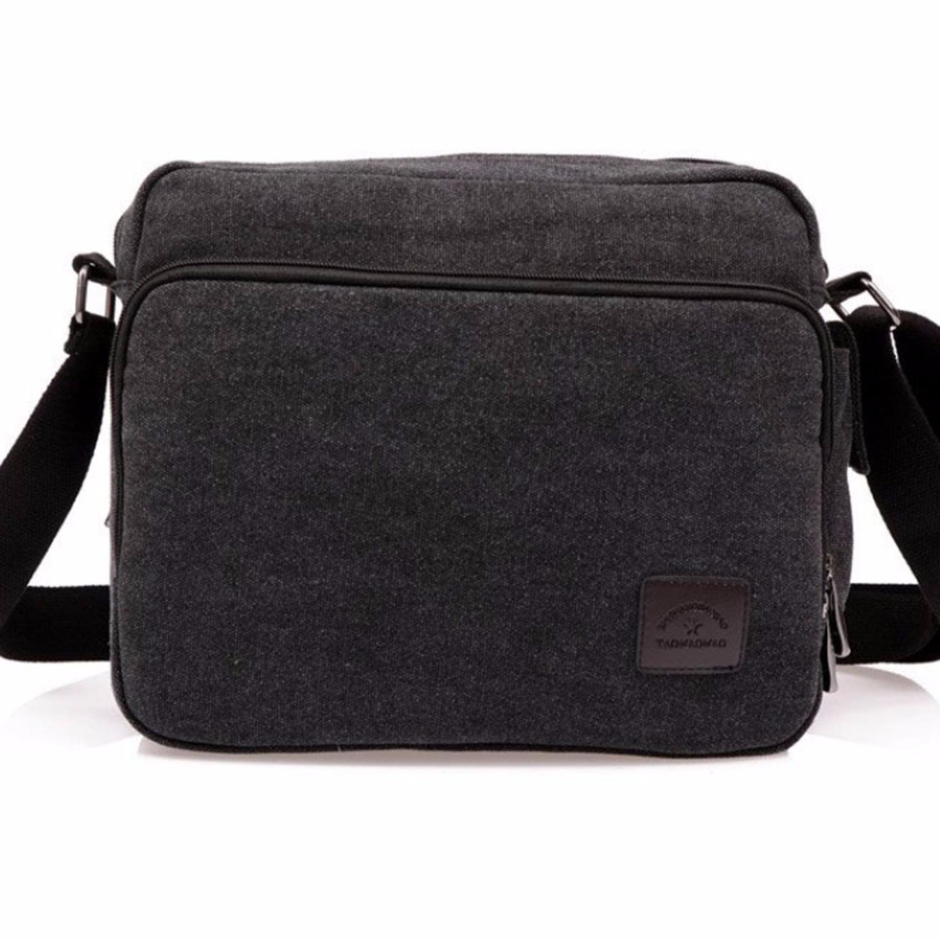 Tahan lama digunakan Ormano Tas Selempang Casual Kanvas Obsession Pria  Wanita Bodypack Sling Bag Tas Bahu Slempang Jeans Shoulder 1260abb70c