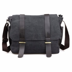 Ormano Tas Selempang Pria Korean Canvas Deangelo Messenger Bag Laptop Gadget Bodypack Shoulder Bags Sling Bag Tas Bahu Casual Jalan Jalan Bepergian Fashion s8808
