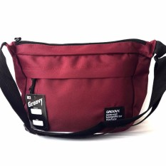 Ormano Tas Selempang Waistbag Weistbag Berrio Waist Bag Fashion Accessories - Marun