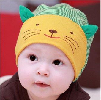 Pencarian Termurah Ormano Topi Baby Anak Little Smiley Cat Cap - Hijau harga penawaran - Hanya Rp76.446