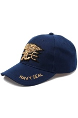 Ormano Topi Baseball Snapback Cap Korean Hip Hop Navy Seal Cap - Biru Navy 678afdabcc