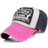 Toko Ormano Topi Baseball Snapback Cap Motor Racing Team K056 Pink Ormano