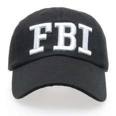 Dapatkan Segera Ormano Topi Baseball Snapback Fbi Cap Hitam