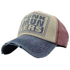 Ormano Topi Baseball Snapback Hip Hop Punk Drunkers Cap - Merah