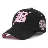 Jual Beli Online Ormano Topi Baseball Snapback Korean Style Letter B Hitam Pink