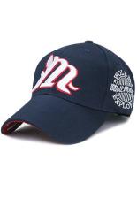 Ormano Topi Baseball Snapback Korean Style M Style Cap Biru Navy Original