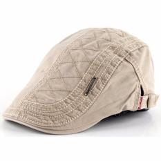 Review Ormano Topi Golf Summer Duckbill Pet Outdoor Fashion Jahit Beret Retro K042 Cream Di Indonesia