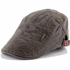 Jual Ormano Topi Golf Summer Duckbill Pet Outdoor Fashion Jahit Beret Retro K042 Hijau Navy Satu Set
