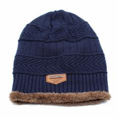 Jual Beli Ormano Topi Kupluk Wool Winter Fashion Hat Beanie S3609 Biru Baru Dki Jakarta