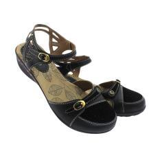 Ornella JG 661 Bertali Sepatu Sandal Wanita - Black