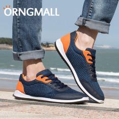 ORNGMALL Hot Sale Sepatu Casual Pria Fashion Breathable Ringan Sport Sneakers Mesh Sepatu Menjalankan Outdoor Sepatu Berjalan Jogging Sneakers Sepatu Pria Pria