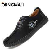 Spek Orngmall Hot Sale Sepatu Handmade Italia Sepatu Kulit Casual Pria Sepatu Formal Loafer Sepatu Flip Moccasin Ukuran Besar 38 46 Tiongkok