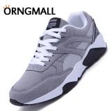 Beli Orngmall Sepatu Bernapas Pria Sepatu Olahraga Sepatu Sneakers Sepatu Mesh Kasual Sepatu Jogging S Busana Kasual Pria Renda Lari Sepatu Sneakers