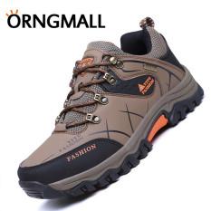 ORNGMALL Sepatu Olah Raga Pria Sepatu Tahan Air Luar Ruangan Non-slip  Hiking Panjat Tebing 7419d70daa