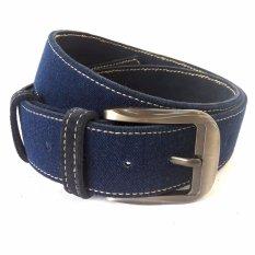 Diskon Osberg Denim Belt Navy Blue Blue Ring