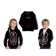 [Ossela.com] Jaket Hoodie Sweater Anak Unisex NMAX 3D Printed Sublimation - Art 04
