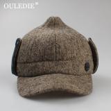 Ouledie Pria Dan Wanita Model Umum Musim Gugur Dan Dingin Baru Topi Topi Baret Coklat Terbaru