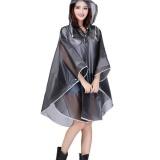 Toko Outdoor Camping Bersepeda Trekking Jubah Gaya Eva Hooded Raincoat Jaket Untuk Wanita Hitam Intl Oem Tiongkok