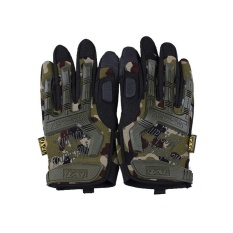 Diskon Outdoor Hiking Camping Safety Gloves Super Technician Full Finger Tactical Cycling Riding Waterproof Skiing Glove Intl Oem Tiongkok