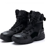 Review Outdoor Magnum Combat Army Boots Tactical Police Boot For Men Black Magnum Di Dki Jakarta