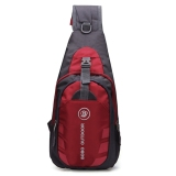Toko Outdoor Men Waterproof Nylon Chest Shoulder Bag Sport Running Messenger Backpack Red Intl Oem Online