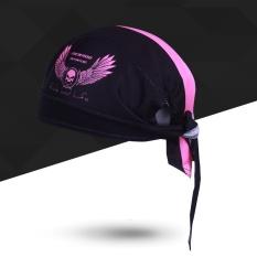 Ulasan Mengenai Outdoor Olahraga Bersepeda Cap Unisex Cepat Kering Bernapas Bike Cool Headscarf Tengkorak Bajak Laut Scarf Untuk Wanita Pria Hood Mtb Balap Sepeda Hat Intl