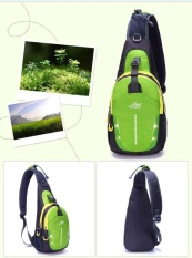 Beli Outdoor Sport Waterproof Nylon Sling Chest Pack Travel Climb Tas Botol Air Intl Bisturizer Murah