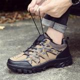 Beli Olahraga Outdoor Camping Shoes For Pria Taktis Hiking Hulu Sepatu For Panas Musim Yang Hardly Breathe Waterproof Coating Brown Murah