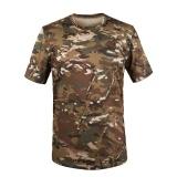 Harga Outdoor Olahraga Hiking Kamuflase Gunung T Shirt Pria Cepat Kering Army Tactical Combat T Shirt Militer Camo Climbing Tees Cam04 Intl Terbaru