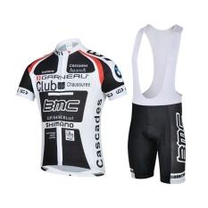 Jual Beli Outdoor Olahraga Pria Lengan Pendek Bersepeda Jersey Dan Bib Celana Pendek Suit Intl Tiongkok