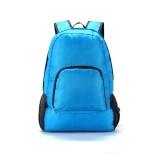 Harga Outdoor Perjalanan Kapasitas Besar Portabel Folding Ransel Tahan Air Ultra Ringan Casing Bahu Perjalanan Penyimpanan Backpack Biru Dan Spesifikasinya