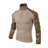 Kualitas Di Luar Ruangan T Shirt Yang Taktis Tentara Pria Wearing T Shirt Militer Kemeja T T Shirt Kering Olahraga Tap