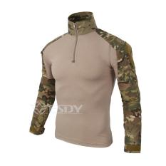 Jual Di Luar Ruangan T Shirt Yang Taktis Tentara Pria Wearing T Shirt Militer Kemeja T T Shirt Kering Olahraga Murah Tiongkok