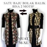 Jual Outer Batik Wanita Atasan Blouse Batik A500 Branded Original