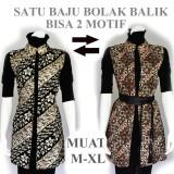 Penawaran Istimewa Outer Batik Wanita Atasan Blouse Batik A502 Terbaru