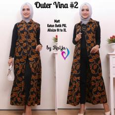 Outer Vina 2 outer batik harga grosir model terkini
