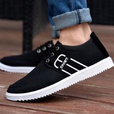 Spesifikasi Outlet Joy Pria Kasual Fashion Olahraga Menjalankan Sepatu Hitam Online