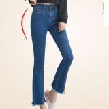 Toko Outlet Micro Flare Jeans Wanita Hitam Internasional Terlengkap
